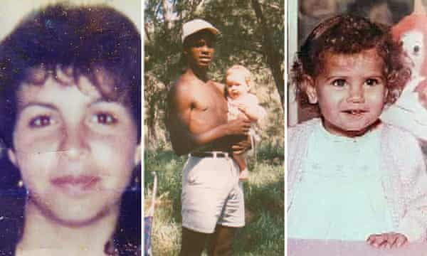 Bowraville murder victims from left: Colleen Walker-Craig, Clinton Speedy (holding baby) and Evelyn Greenup