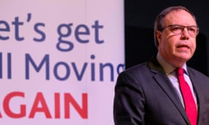 Nigel Dodds at the DUP manifesto launch in Belfast.