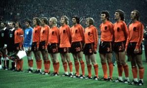 Holland's 1974 team