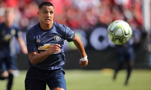 Alexis Sánchez was on the losing side.