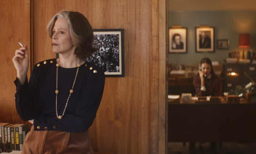 Formidable ... Sigourney Weaver as Margaret in My Salinger Year.