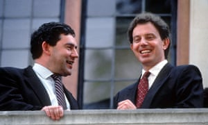 Gordon Brown and Tony Blair in 1994.
