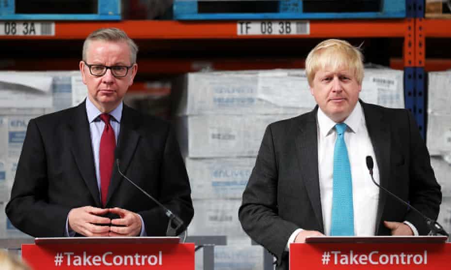 Let's be friends – again: Boris Johnson and Michael Gove