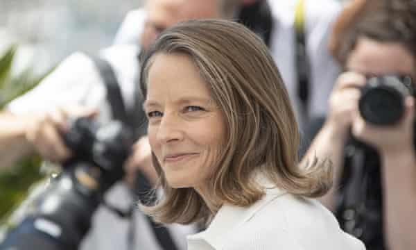 Jodie Foster at the photocall for her honorary Palme d'Or award.