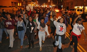 Hundreds of demonstrators march in Washington, DC