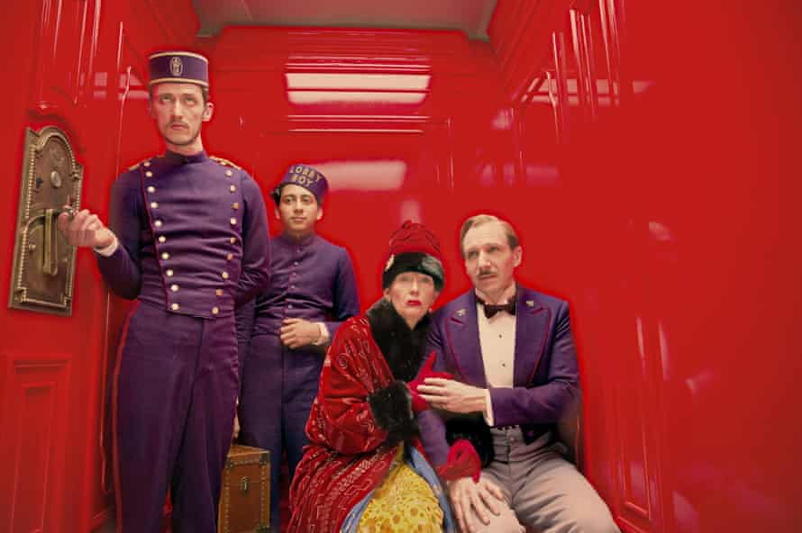 Glorious camp … The Grand Budapest Hotel.