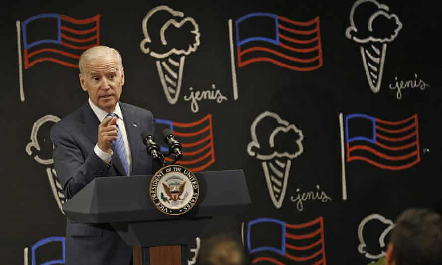 Vice-President Joe Biden; 'Your job's about a lot more than your paycheck. It's about your dignity.'