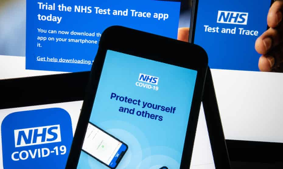 The NHS contract-tracing app
