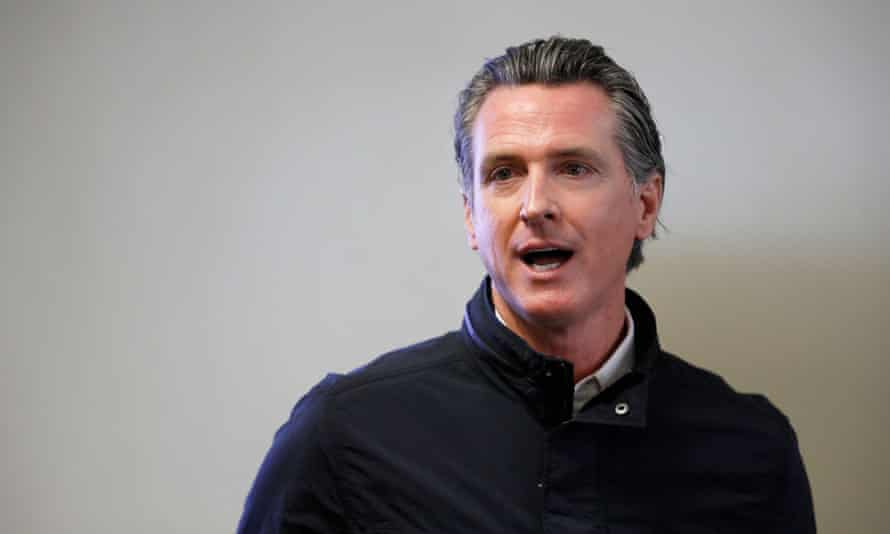 Governor Gavin Newsom has faced rightwing criticisms of his pandemic lockdowns, taxes and social spending.