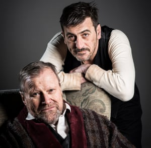 David Neilson, left, and Chris Gascoyne in Endgame