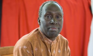 Ngugi wa Thiong'o pictured at the Edinburgh book festival in 2006.