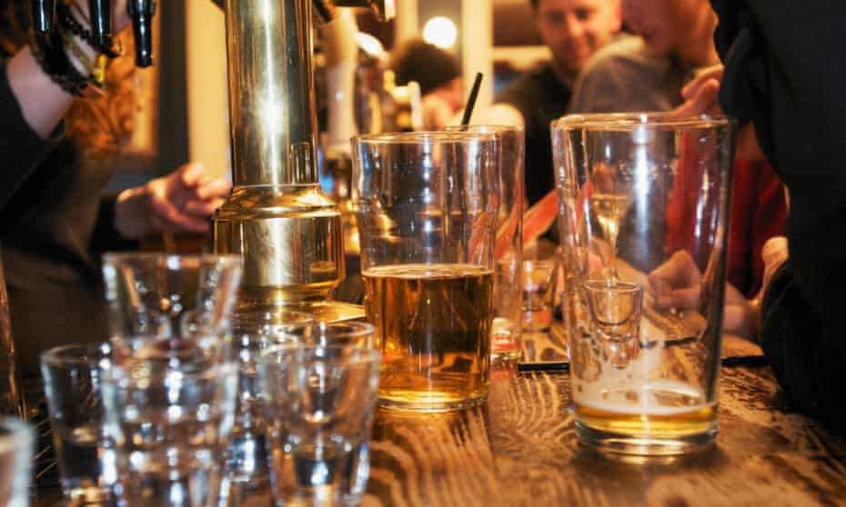 Are British TV shows exaggerating how much people in the UK go to the pub?