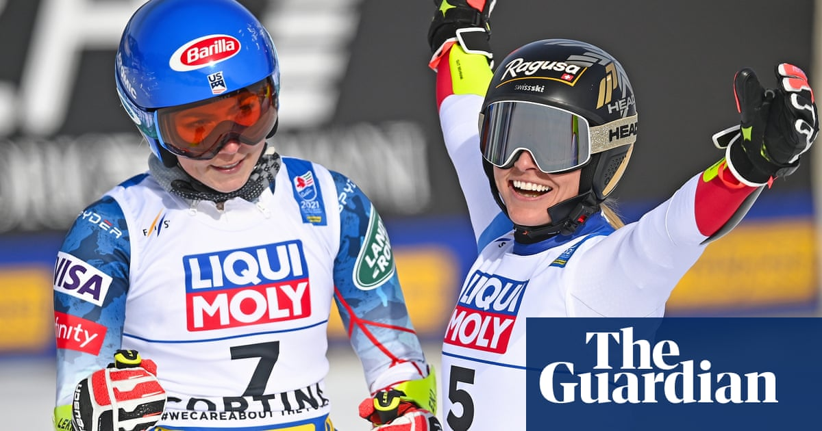 Gut-Behrami beats Mikaela Shiffrin to gold by 0.02 seconds in world giant slalom