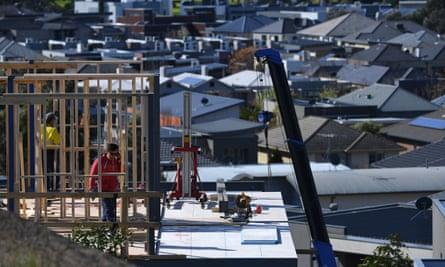 The construction industry in Sydney's west is already experiencing a downturn.