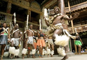 UMabatha at Shakespeare's Globe theatre in 2001.