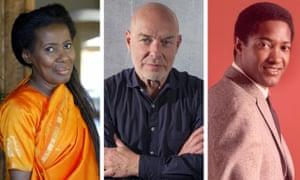 Alice Coltrane, Brian Eno and Sam Cooke.