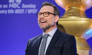 Christian Slater announces this year's nominees.