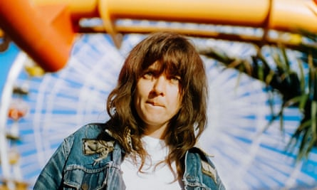 'I have close friends that I keep quite an emotional distance from' … Courtney Barnett.