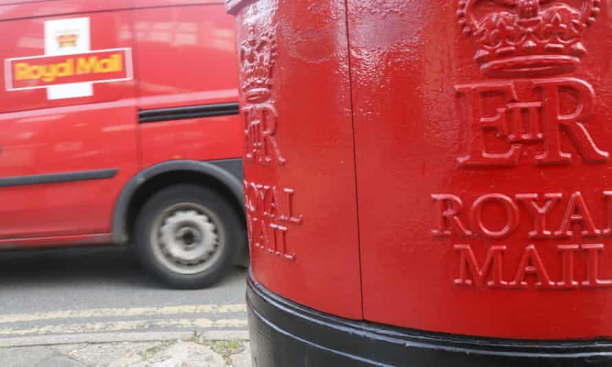 Postbox and van