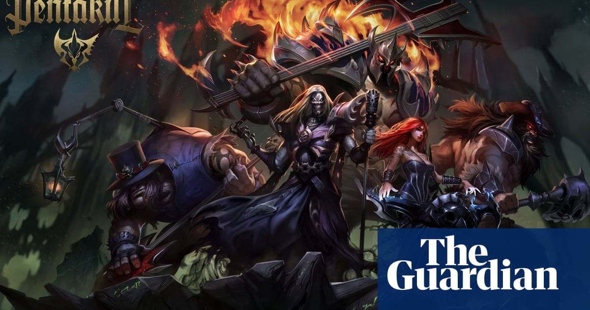 Pentakill: how a metal band that doesn't exist made it to No 1