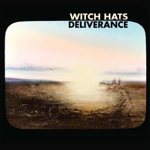 The artwork for Australian punk band Witch Hats' third album Deliverance