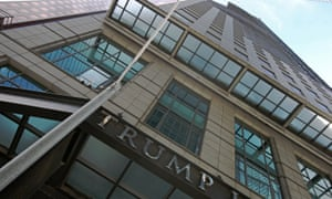 The Trump International Hotel and Tower has faced a series of problems since 2007.