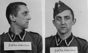 Hubert Zafke in his SS days