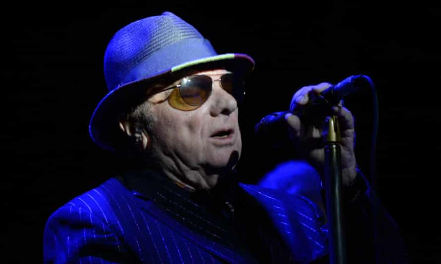 Van Morrison performing at the Electric Ballroom in London this month.