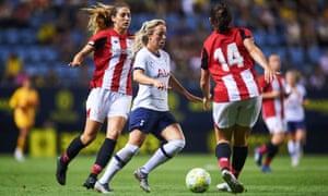 Tottenham Hotspur's Gemma Davison