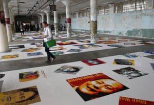 Ai Weiwei's Trace installation last year at Alcatraz in San Francisco, US.