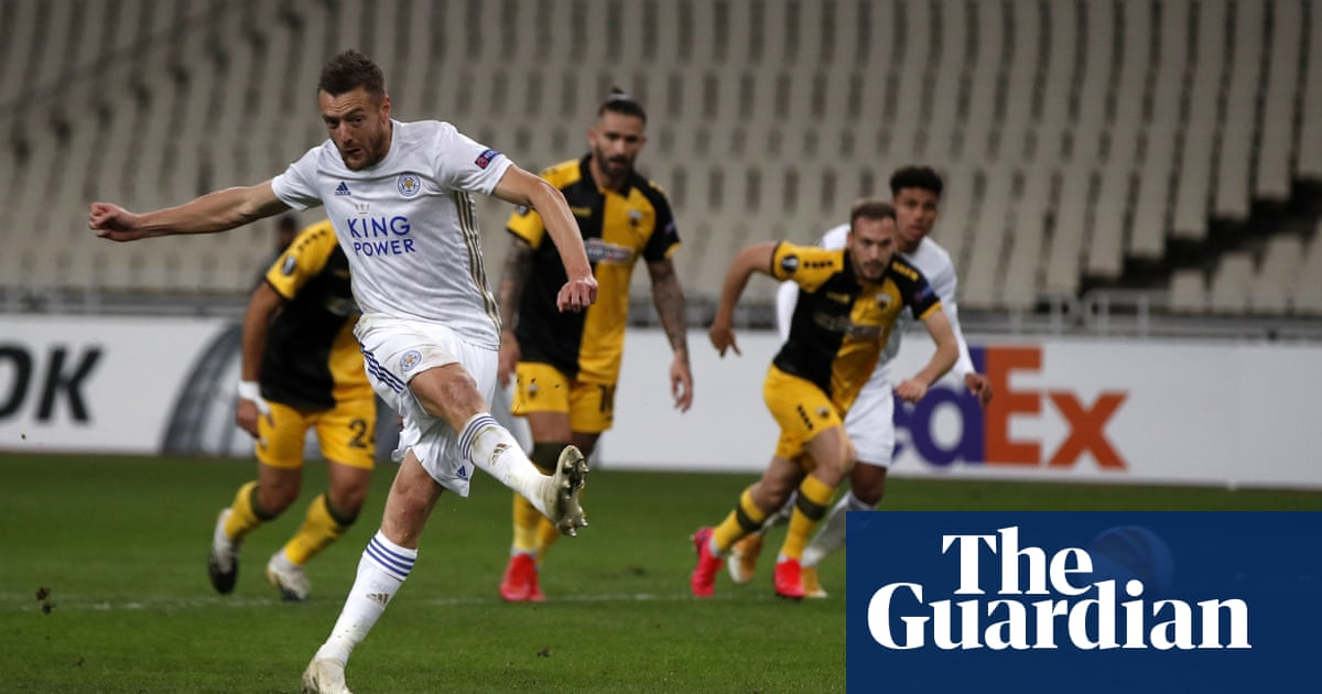 Leicester make light of absentees and ease to clinical win over AEK Athens
