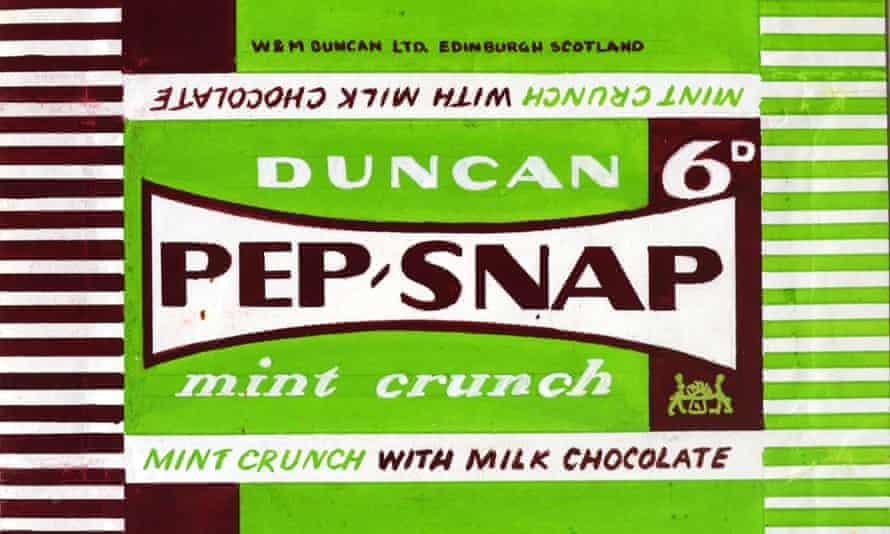 Kathleen Butlin's design for a biscuit wrapper for the confectioner's Duncan's of Edinburgh.