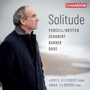 James Gilchrist and Anna Tilbrook: Solitude album art work