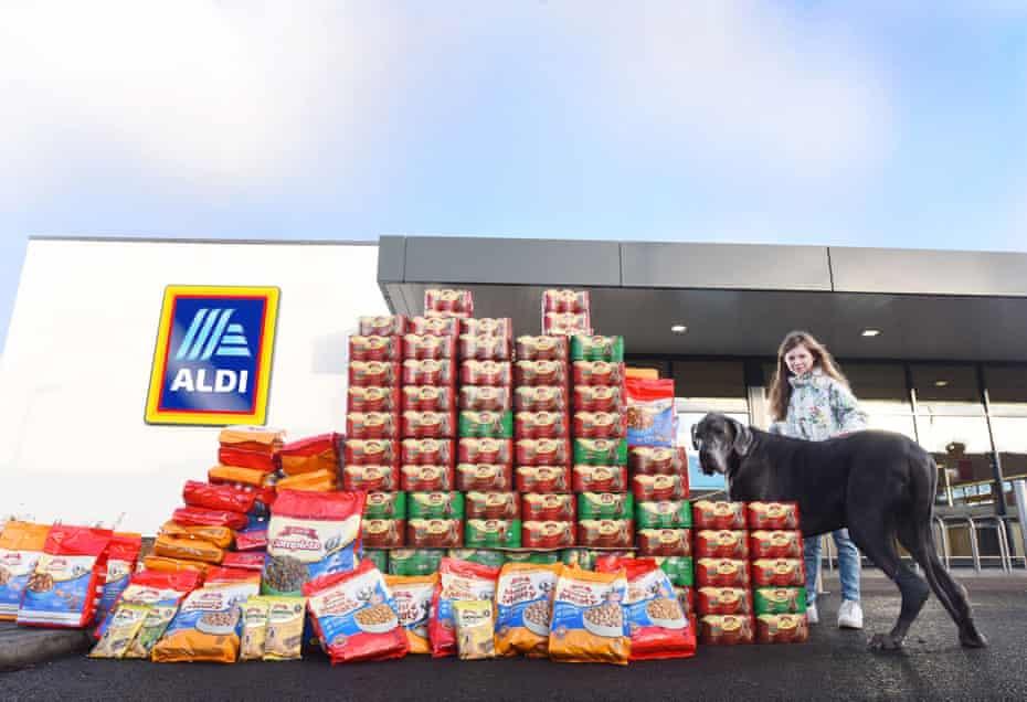 Big dog … Aldi launches its pet range in 2018.