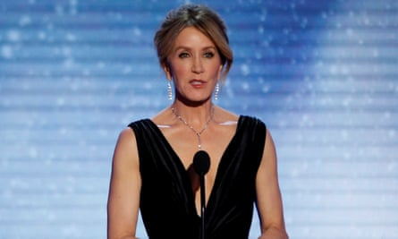 Felicity Huffman. Thirty-three parents were charged.