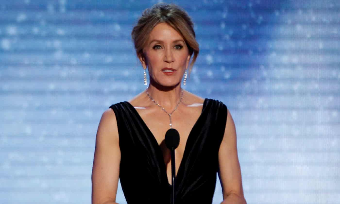 Felicity Huffman among dozens charged over admissions fraud at top US schools