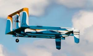 An Amazon mini-drone