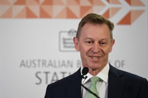 Chief statistician David Kalisch of the Australian Bureau of Statistics announces the result of the Same-Sex Marriage postal survey. The yes vote won with 61.6 percent.