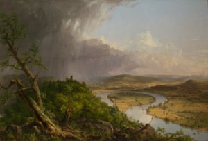 Thomas Cole's View from Mount Holyoke, Northampton, Massachusetts, after a Thunderstorm – The Oxbow, 1836.