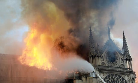The Guardian view on the Notre Dame fire: we share France's terrible loss