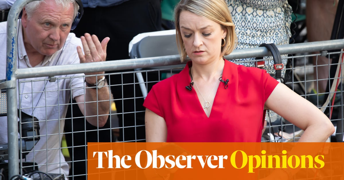 Laura Kuenssberg's successor must be immune to likes and follows