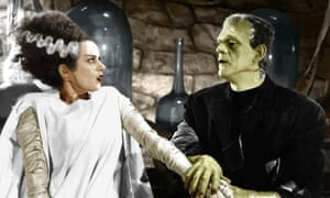 Hair-raising … the lightning-bolt streak of silver in Elsa Lanchester's hair in Bride of Frankenstein (1935)created a stylish horror icon.