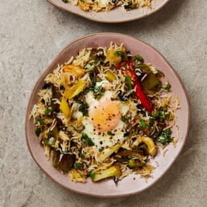 Yotam Ottolenghi's Mediterranean style fried rice with anchovy dressing