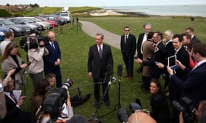 Ukip leader Nigel Farage announces his resignation after failing to win the South Thanet constituency.
