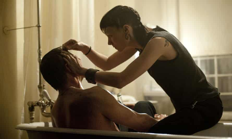 Daniel Craig and Rooney Mara in the 2011 film adaptation of The Girl With the Dragon Tattoo.