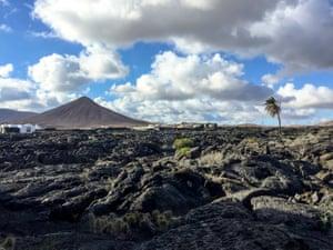 Under the volcanoes, Lanzarote