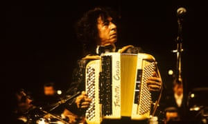 Francis Lai at the accordion. The composer learned both piano and accordion, and began his musical career in 1950 as an orchestral musician.