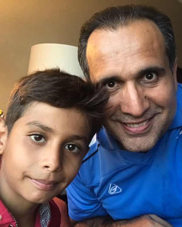 Bahaudin Mujtaba was able to get his newly adopted son Noman out of Afghanistan.