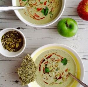 Anya Kassoff's soups made with her Blendtec blender