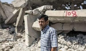 Abdullah Kurdi, father of Alan Kurdi, in his home town Kobanî, in northern Syria.